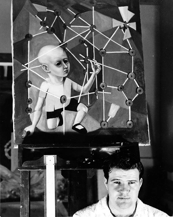 At KCAI, c. 1950s