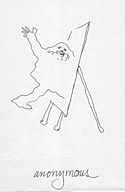 The final sketchbook entry for Bob Camblin