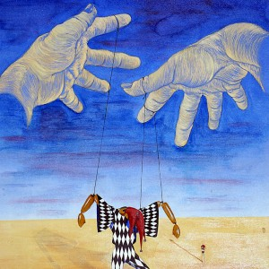 """Title   Marionette Date   1950 Dimensions   13 x 18 in. Signature   """"camblin"""" Gallery Location   Available for viewing State   Original Rights   © The Camblin Gallery"""