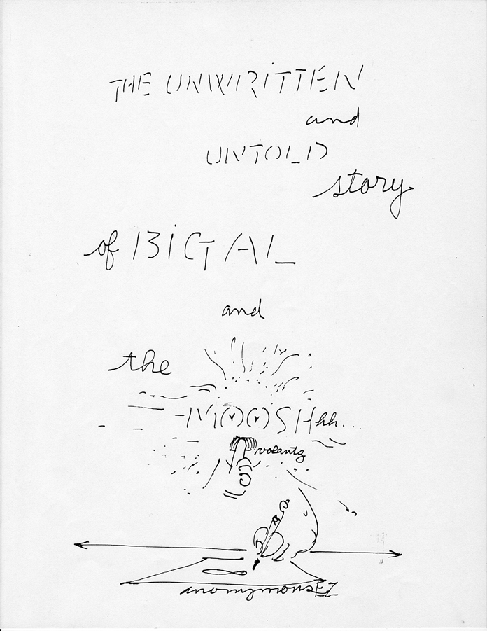 "Cartoon by Bob Camblin in the series entitled, ""The Unwritten and Untold Story of Big Al."" © The Camblin Gallery"