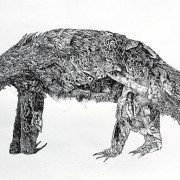 Title   Animals, Plate 6 Dimensions    22 X 30 in. Signature   camblin staley Gallery Location   Available for viewing State   Lithograph Rights   © The Camblin Gallery